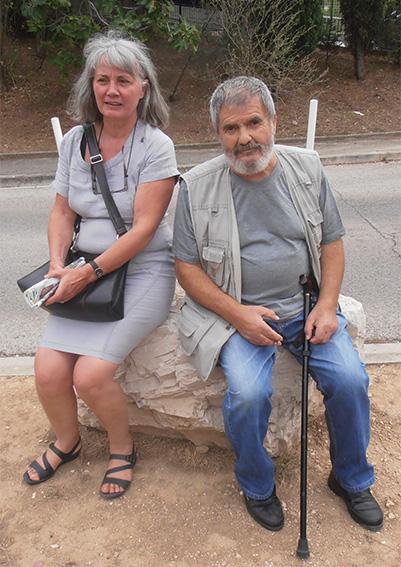 Ange Colombani et Claire